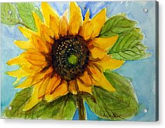 Sunny Disposition Acrylic Print