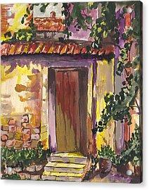 Sunny Doorway Acrylic Print