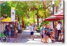 Sunny In Miami  Acrylic Print