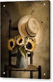 Sunny Inside Acrylic Print by Robin-Lee Vieira