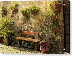 Sunny Italian Afternoon Acrylic Print by Lynn Andrews