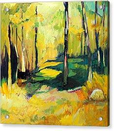 Sunny Meadow Acrylic Print