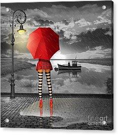 Sunny Outlook Acrylic Print by Monika Juengling