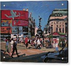 Sunny Piccadilly Acrylic Print