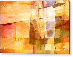 Sunny Scene Acrylic Print by Lutz Baar