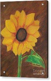 Sunny Side Up Acrylic Print by Marsha Heiken