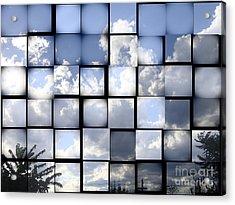 Sunny Sky Acrylic Print