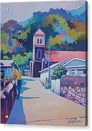 Sunny Soufriere Acrylic Print