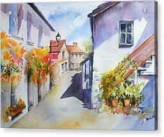 Sunny Street Acrylic Print