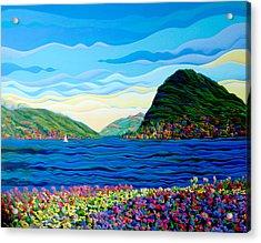 Sunny Swiss-scape Acrylic Print