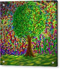 Sunny Tree Acrylic Print