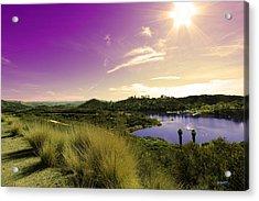Sunny Valley Acrylic Print