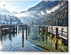 Sunny Winter Morning Acrylic Print