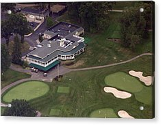 Sunnybrook Golf Club Clubhouse Acrylic Print by Duncan Pearson