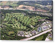 Sunnybrook Golf Club Golf Course Acrylic Print by Duncan Pearson