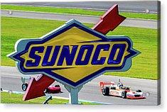 Sunoco Acrylic Print