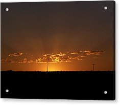 Sunrise 2 Acrylic Print by Travis Wilson