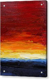 Sunrise #22 Acrylic Print by Fred Wilson