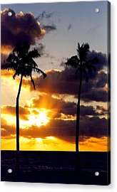 Acrylic Print featuring the photograph Sunrise-23 by Denise Moore