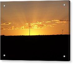Sunrise 3 Acrylic Print by Travis Wilson