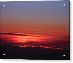 Sunrise A Different View Acrylic Print