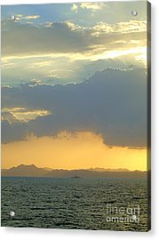 Sunrise After The Typhoon Acrylic Print