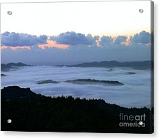 Acrylic Print featuring the photograph Sunrise by The Art of Alice Terrill