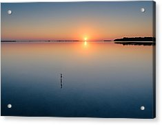 Sunrise Along The Pinellas Byway Acrylic Print