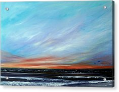 Sunrise And The Morning Star Eastern Shore Acrylic Print