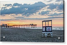 Sunrise At 16th Street Ocean City New Jersey Acrylic Print