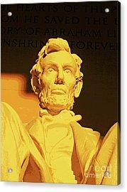 Sunrise At Abraham Lincoln Acrylic Print