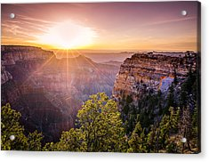 Sunrise At Angel's Window Grand Canyon Acrylic Print