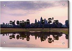Sunrise At Angkor Wat Acrylic Print