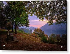 Sunrise At River Rd  Acrylic Print