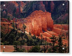 Acrylic Print featuring the photograph Sunrise At Bryce Canyon by Donna Kennedy