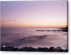 Acrylic Print featuring the photograph Sunrise At Busselton by Ivy Ho