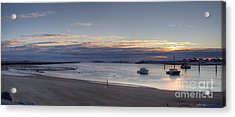 Acrylic Print featuring the photograph Sunrise At Camp Ellis by David Bishop
