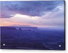 Acrylic Print featuring the photograph Sunrise At Canyonlands by Marie Leslie