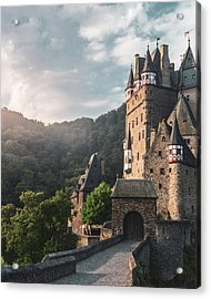 Sunrise At Castle Eltz, Germany Acrylic Print