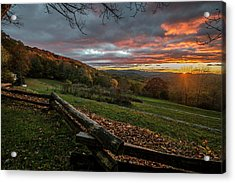 Sunrise At Cone House Acrylic Print