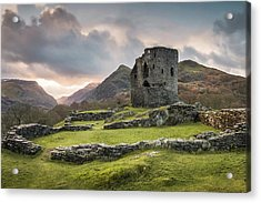 Sunrise At Dolbadarn Castle Acrylic Print
