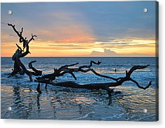 Sunrise At Driftwood Beach 1.4 Acrylic Print