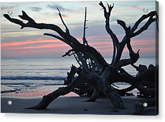 Sunrise At Driftwood Beach 5.1 Acrylic Print