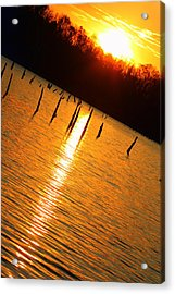 Sunrise At East Fork Oh Acrylic Print