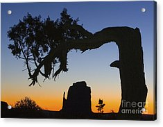 Sunrise At East Mitten Acrylic Print by Jerry Fornarotto