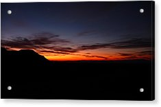 Sunrise At Hole-in-the-wall Acrylic Print