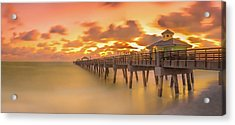 Sunrise At Juno Beach Acrylic Print