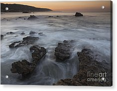 Sunrise At Laguna Beach II Acrylic Print by Keith Kapple