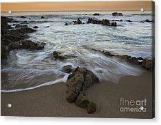 Sunrise At Laguna Beach Acrylic Print