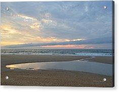 Acrylic Print featuring the photograph Sunrise At Loggerhead by Barbara Ann Bell